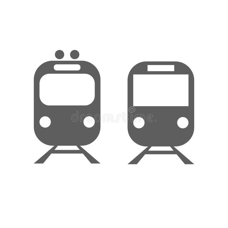Metro, Zug lizenzfreie abbildung