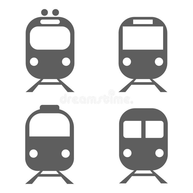 Metro, Zug vektor abbildung