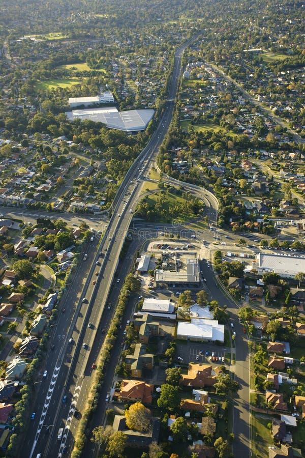 metroad Австралии стоковая фотография rf