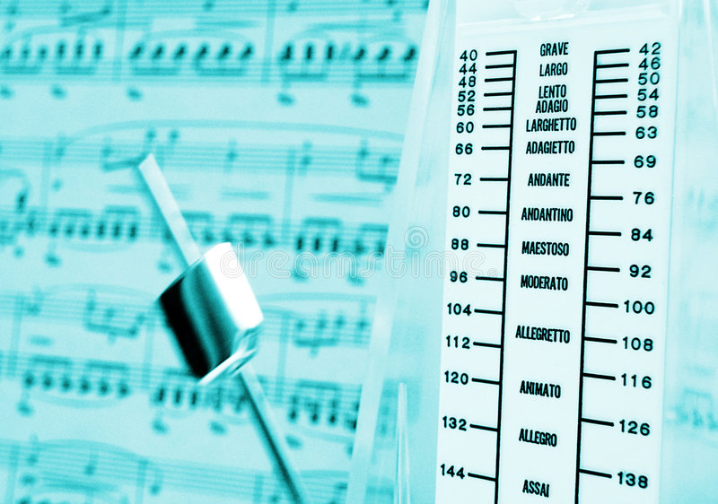 Download Metronome & music score stock photo. Image of books, instrument - 6331098