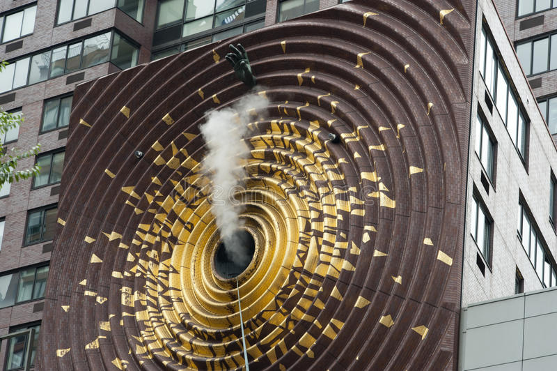 Metronomo NYC fotografia stock libera da diritti