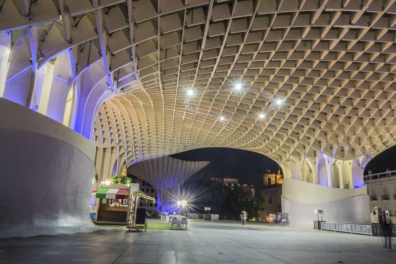 Metropol Parasol in Seville stock photography