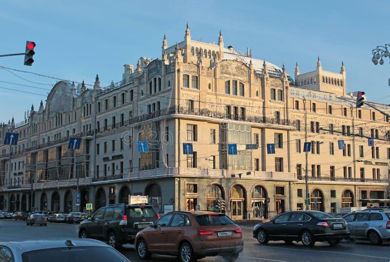 Metropolhotel, Moskou royalty-vrije stock foto