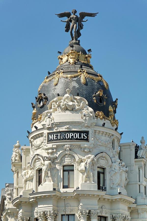 Metropoli immagine stock