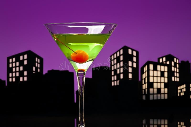 Download Metropolis Apple Martini stock photo. Image of fruit - 33234528