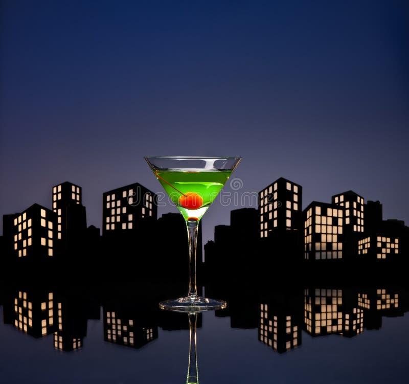 Download Metropolis Apple Martini Royalty Free Stock Image - Image: 33234656