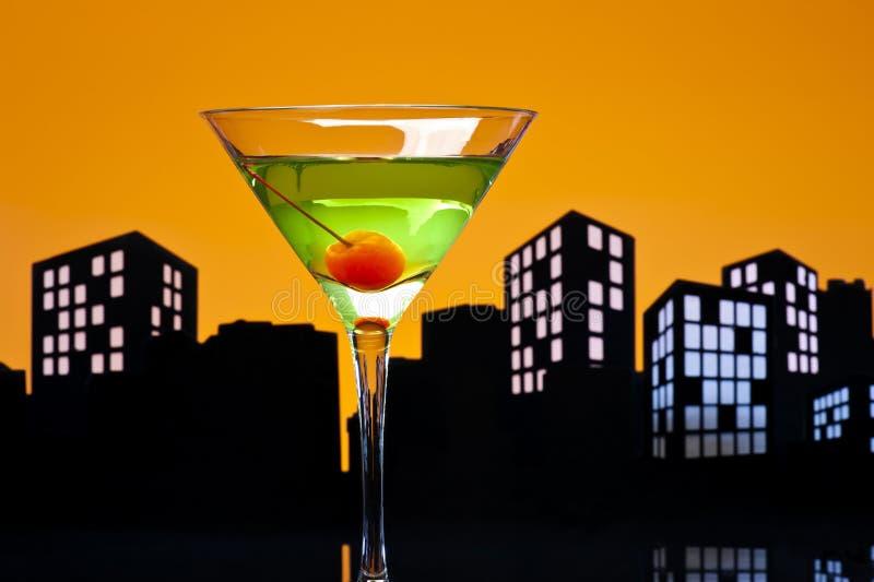 Download Metropolis Apple Martini stock photo. Image of barman - 33242800
