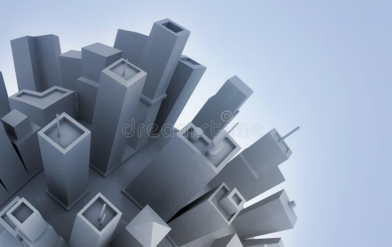 Download Metropolis Around The World Stock Illustration - Image: 17830652
