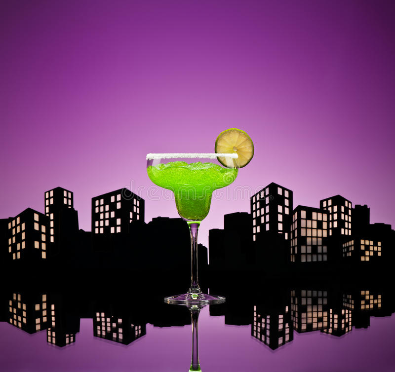 Download Metropolis Green Margarita Cocktail Stock Photo - Image: 33551358