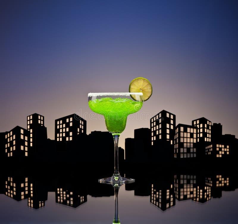 Download Metropolis Green Margarita Cocktail Royalty Free Stock Photos - Image: 33551368