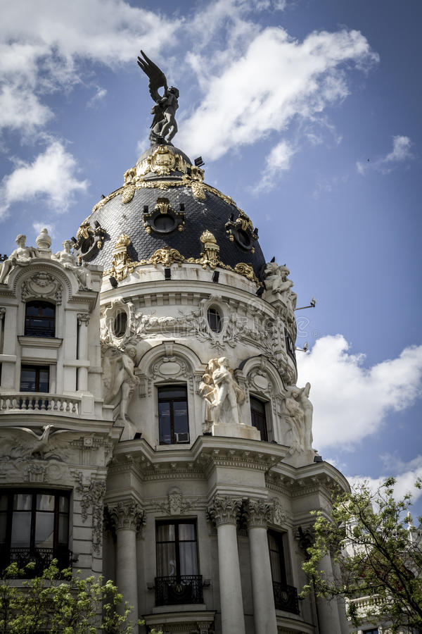 Download Metropolis, Image Of The City Of Madrid, Its Characteristic Arch Stock Photo - Image: 38019132
