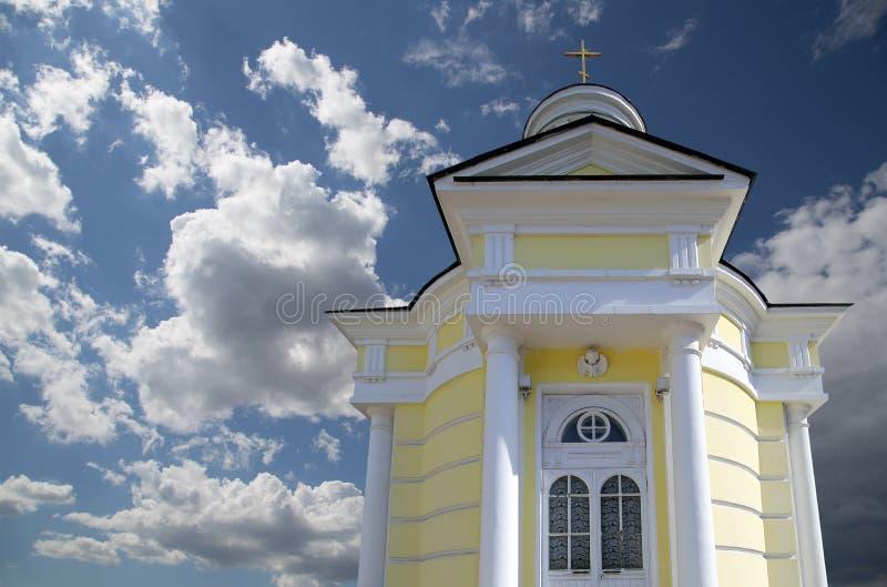 Metropolita (święty hierarcha) Philip kościół w przedmieściu Meschanskoy moscow Rosji obrazy royalty free