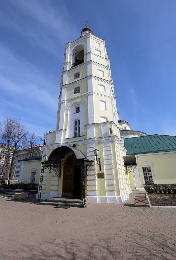 Metropolita (święty hierarcha) Philip kościół w przedmieściu Meschanskoy moscow Rosji obrazy stock