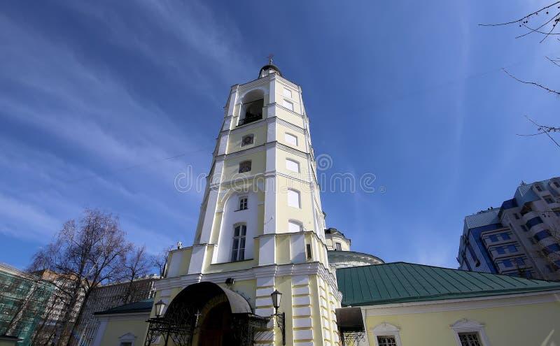 Metropolita (święty hierarcha) Philip kościół w przedmieściu Meschanskoy moscow Rosji fotografia stock