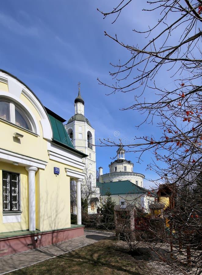 Metropolita (święty hierarcha) Philip kościół w przedmieściu Meschanskoy moscow Rosji zdjęcia stock