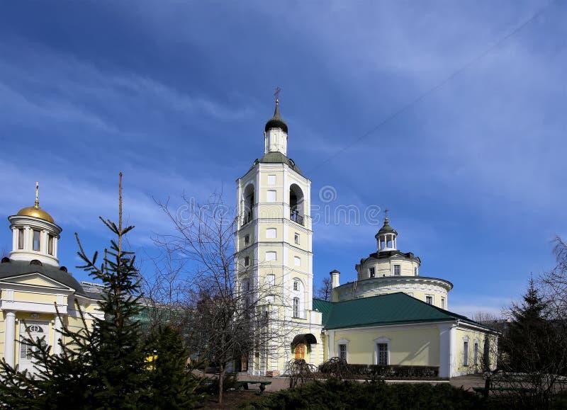 Metropolita (święty hierarcha) Philip kościół w przedmieściu Meschanskoy moscow Rosji obraz stock