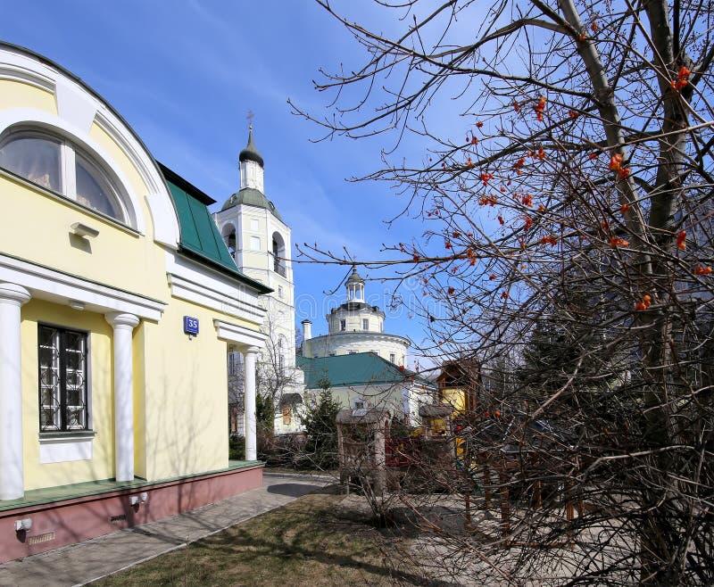 Metropolita (święty hierarcha) Philip kościół w przedmieściu Meschanskoy moscow Rosji zdjęcie stock
