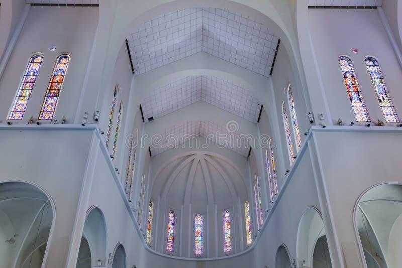 Metropolitaanse Kathedraal Fortaleza Brazilië royalty-vrije stock afbeeldingen