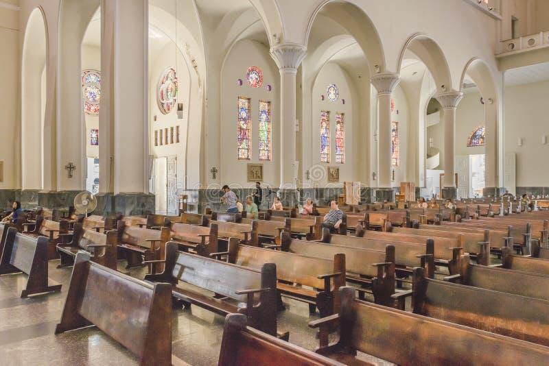 Metropolitaanse Kathedraal Fortaleza Brazilië stock afbeeldingen