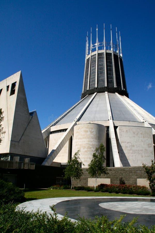 Metropolitaanse Kathedraal Liverpool royalty-vrije stock afbeelding