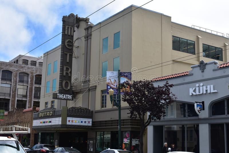 Metropolitaanse Theater gedraaide 'equinox'gymnastiek, 2 royalty-vrije stock foto