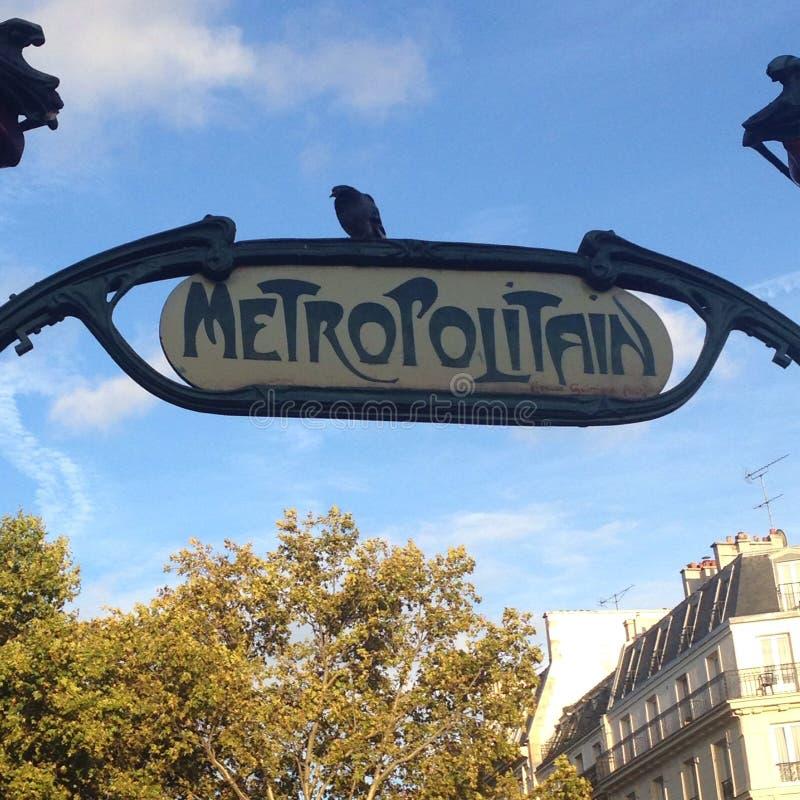 Metropolitain royaltyfri bild