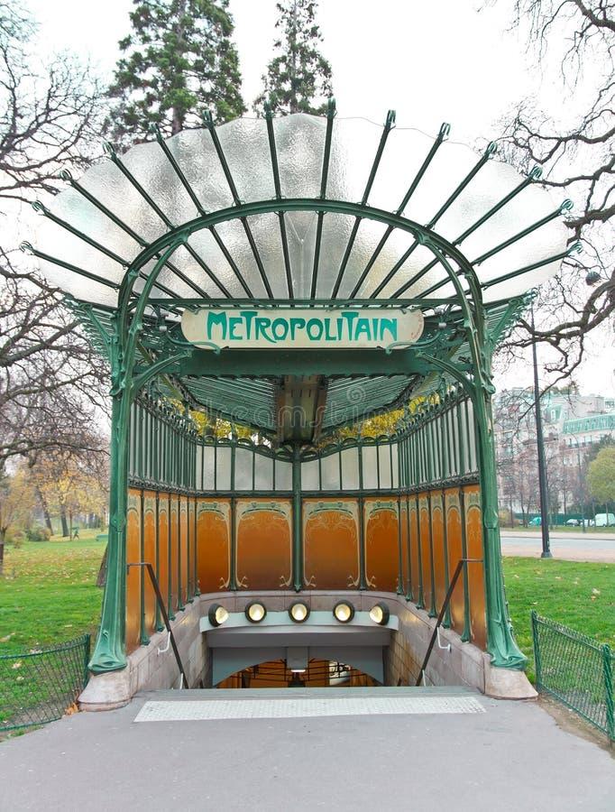 Metropolitain subterrâneo fotos de stock royalty free