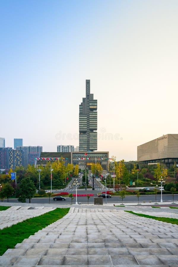 Metropolitan Area, Landmark, Skyscraper, Urban Area stock image