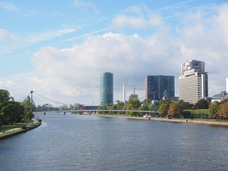 Metropolitan Area, Skyline, Waterway, River royalty free stock image