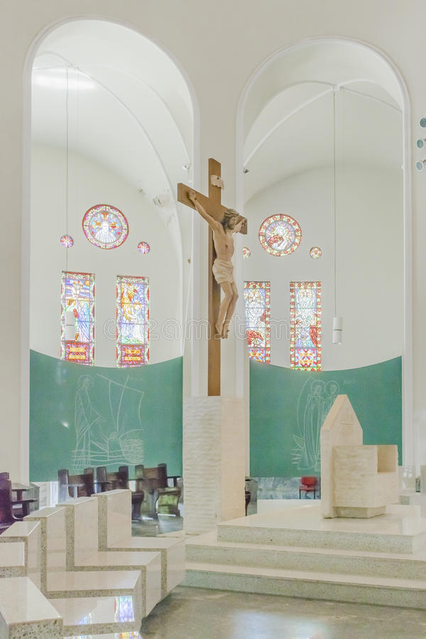 Metropolitan Cathedral Fortaleza Brazil stock image