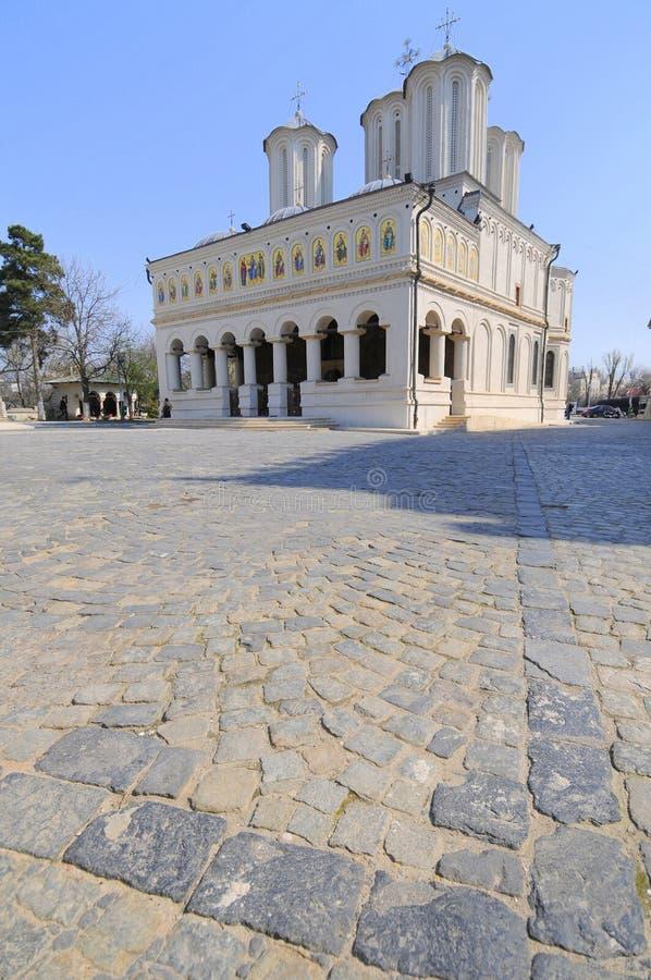 Metropolitan church of Bucharest stock images