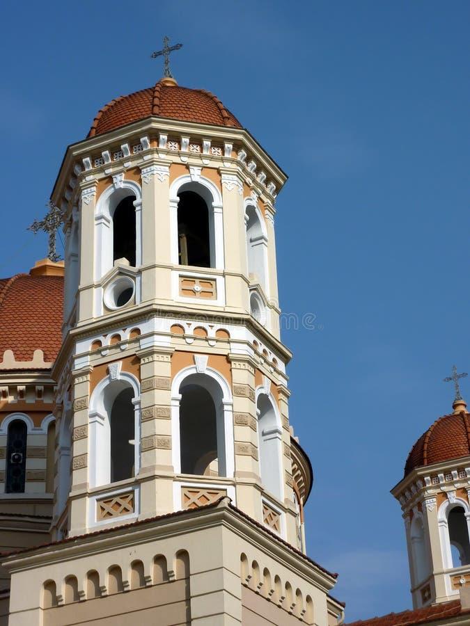Metropolitan Church of Thessaloniki, Greece stock photos