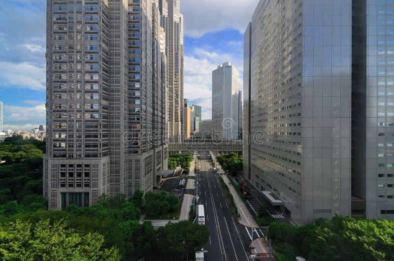 Metropolitan Government Bulidings in Tokyo royalty free stock photos