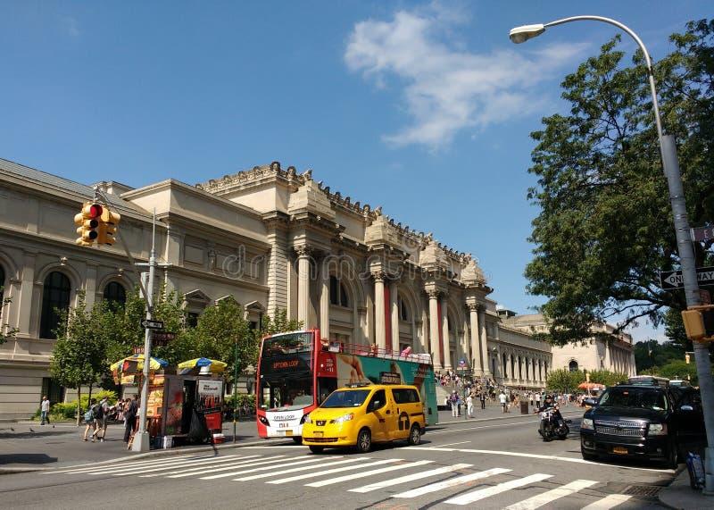 The Metropolitan Museum of Art, the Met, New York City, USA stock images