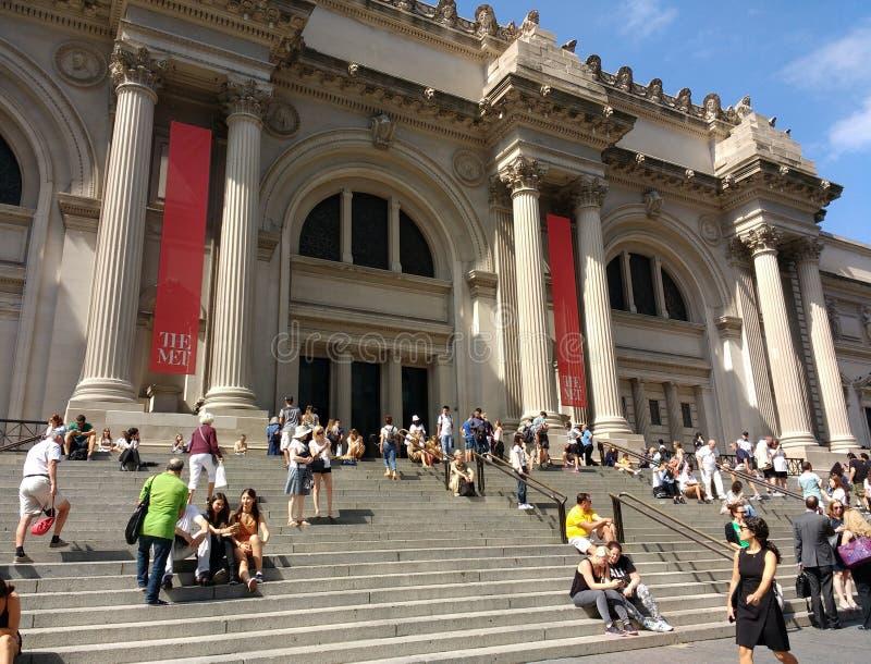 The Metropolitan Museum of Art, the Met, New York City, USA stock photography