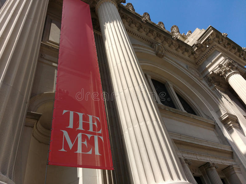 The Metropolitan Museum of Art, the Met, New York City, USA royalty free stock images