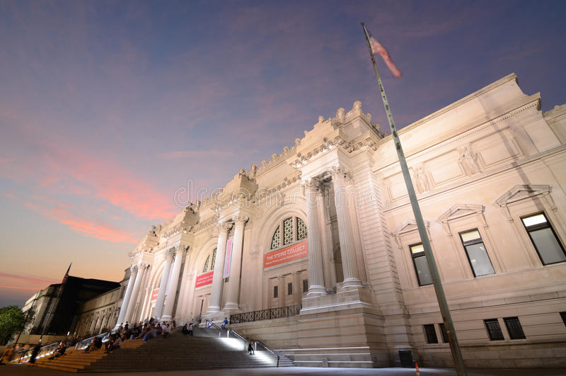 Metropolitan Museum Of Art In New York City Editorial Stock Image