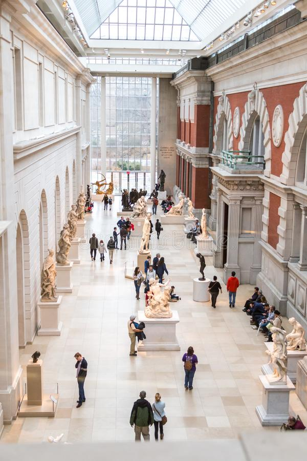 Metropolitan Museum of Art in New York City stock photography