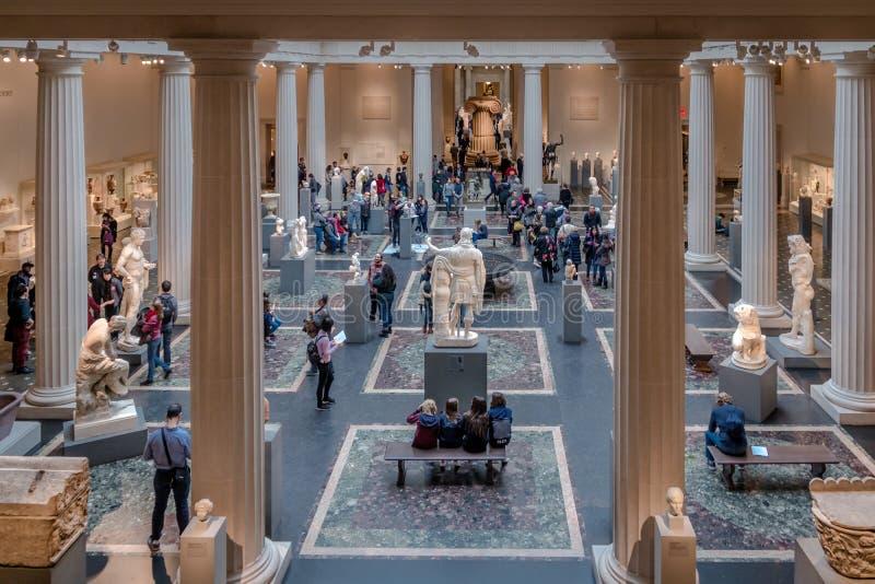 Metropolitan Museum of Art - New York City, USA. NEW YORK, USA - December 06, 2016: Metropolitan Museum of Art - New York City, USA royalty free stock photos