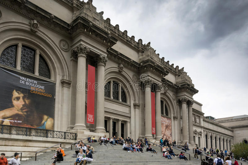 The Metropolitan Museum of Art in New York City stock photography