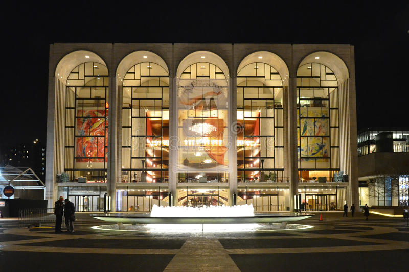 Metropolitan Opera House royalty free stock photos