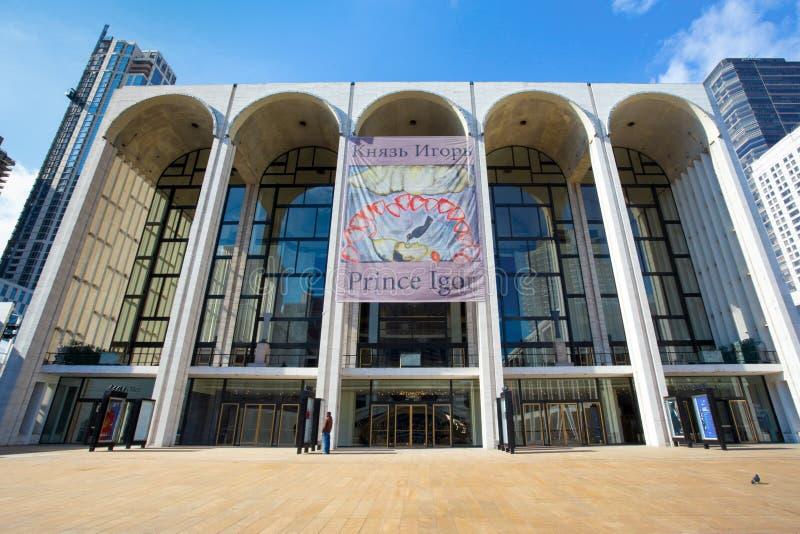 Metropolitan Opera -Huis NYC stock foto's