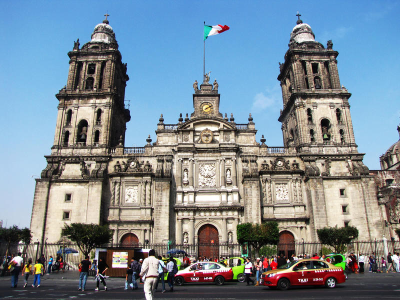 Metropolitana de Catedral photo stock