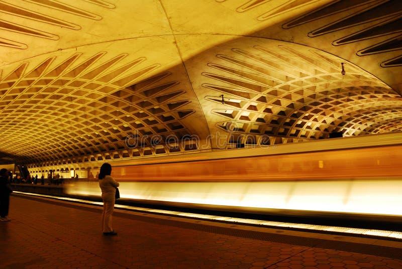 Metropolitana del Washington DC immagini stock