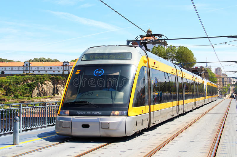 Metropolitana di Oporto fotografie stock