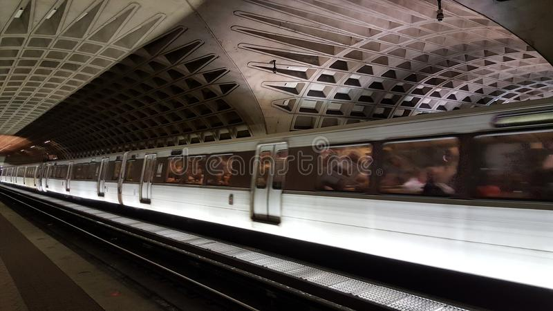 Metropolitana in Washington DC immagini stock