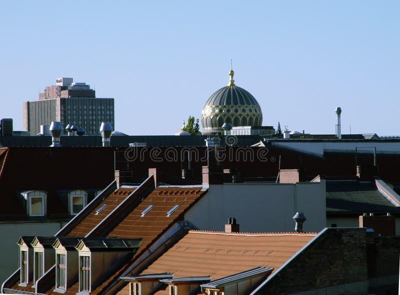 Metropolitandächer Lizenzfreie Stockfotografie
