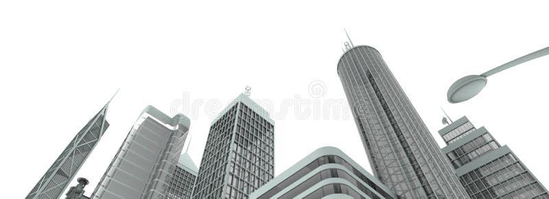 Metropolyn地平线 库存照片