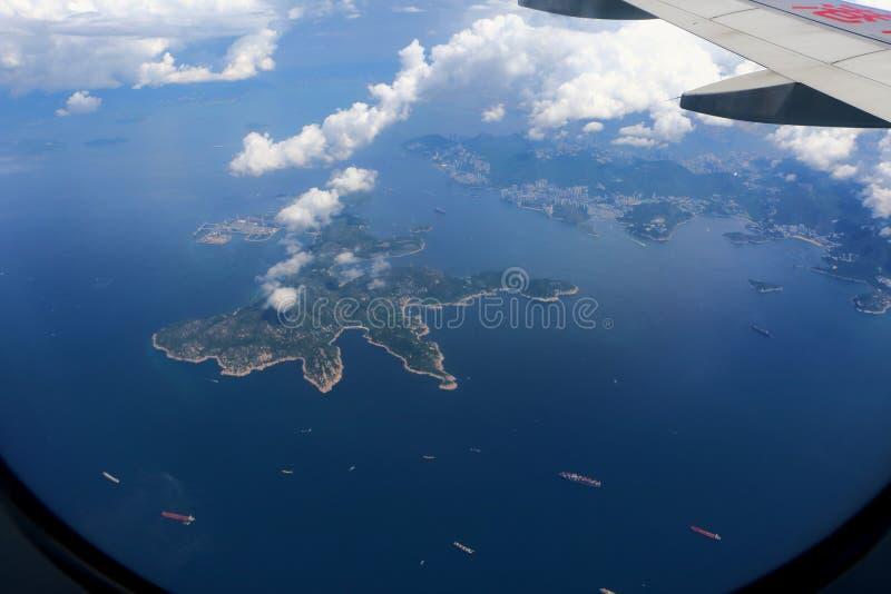 9000 metros de paisaje de la altitud imagen de archivo