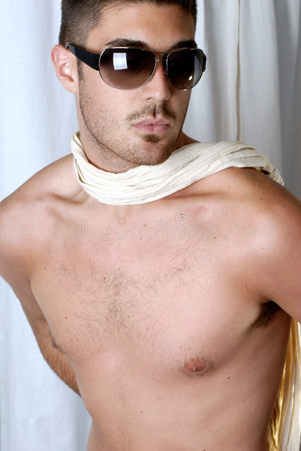 Metrosexual male royalty free stock photography